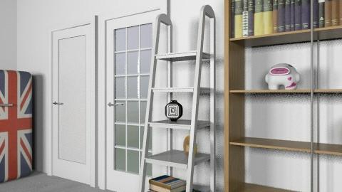 bedroom 1 story test1 - Rustic - Bedroom  - by okada