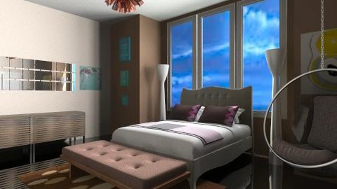 mature bedroom - Eclectic - Bedroom  - by Designerloft