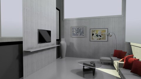 living room - Minimal - Living room  - by mire roig