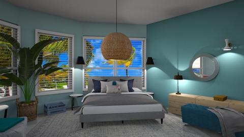 Simple Bedroom - Bedroom  - by Niva T