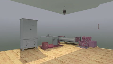 Room the Girl - Classic - Kids room - by Deborah ADim