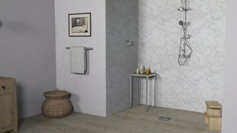California Cottage - Ensuite 2 - Eclectic - Bathroom  - by LizyD
