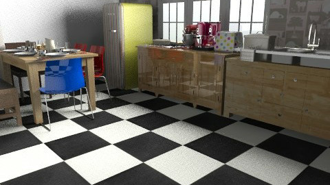 cooking - Retro - Kitchen  - by tamyres