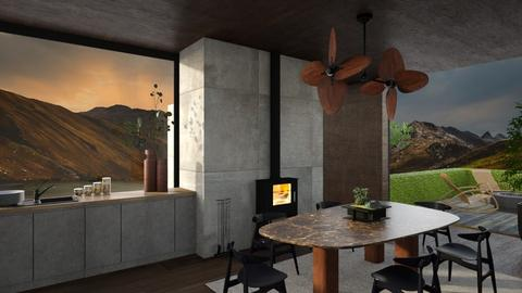 Alfresco area - Modern - Garden  - by SunflowerStudios