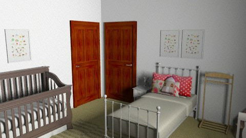 Abbey's room 2 - Eclectic - Kids room  - by Kellory