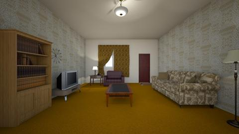 Family House - Living room  - by WestVirginiaRebel
