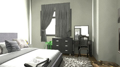 Room drims - Minimal - Bedroom - by kate37