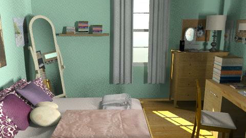 Twilight Bella Swan Bedroom - Country - Bedroom  - by Lenii