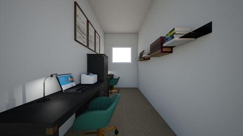 Open office - Modern - Office  - by eliza732