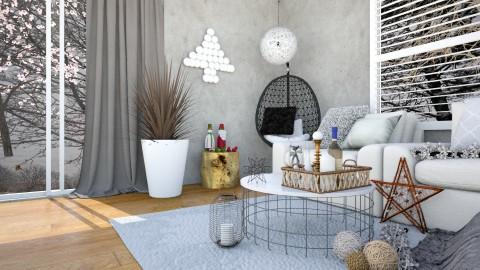 MINIXMAS - Minimal - Living room  - by anniecleetus