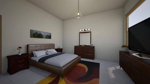 Simple - Minimal - Bedroom  - by maryamk97