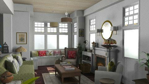 Newport Beach Living Room3 - Vintage - Living room  - by LizyD
