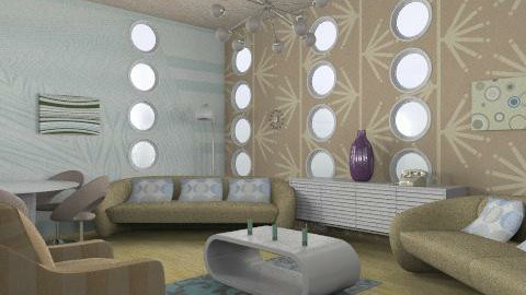retro 2 - Retro - Living room - by trees designs