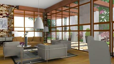 alby attic1 - Vintage - Living room  - by gloria marietti