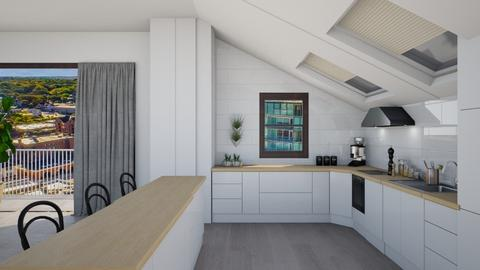 attic condo - Kitchen - by sjones23