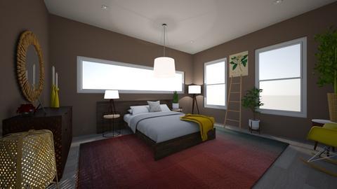 Eclectic Bedroom - Bedroom  - by ktmalikah