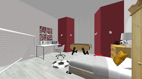 football room - Kids room  - by mint makes