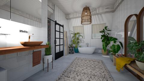 boho chic - Bathroom - by miaxxx
