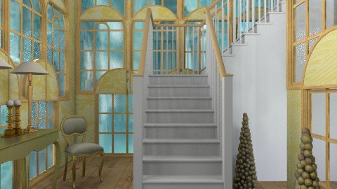 welcome - Glamour - Hallway  - by trees designs