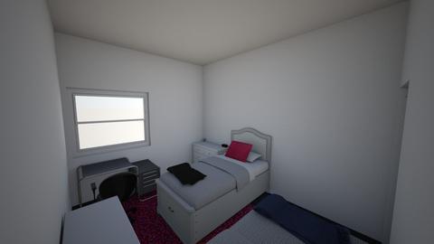 dormroom - Bedroom - by Heidijz