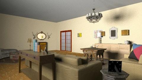 living - Retro - Living room  - by mgado