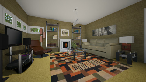 For Brycee - Eclectic - Living room - by Theadora