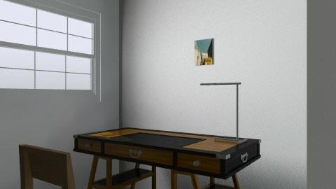 estudio - Country - Bedroom  - by alejandrina