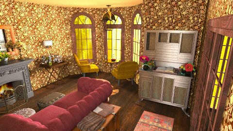 Row - Eclectic - Living room  - by kDylan