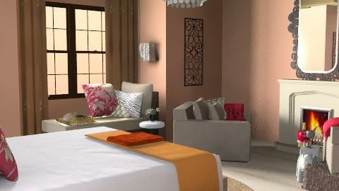 Tusk 'N Retreat - Glamour - Bedroom  - by natural11