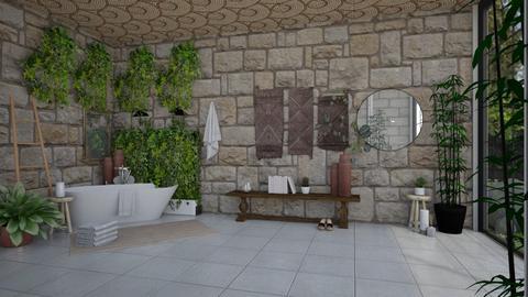 buiten - Bathroom  - by irisrmks