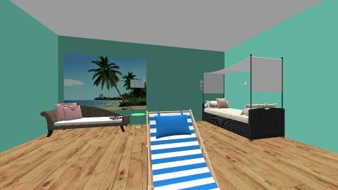 beach hut - by Jasmine Wheeler_140