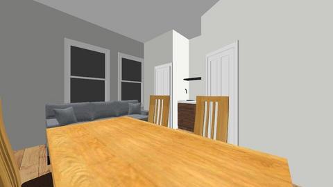 Cottage kitchen 3a - by Jilleaton