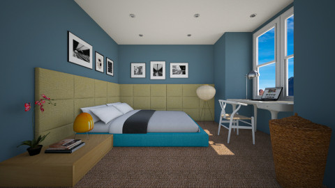 Real Bed Room - Modern - Bedroom  - by 3rdfloor