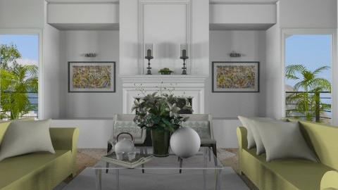 Livingroom005 - Modern - Living room  - by Ivana J