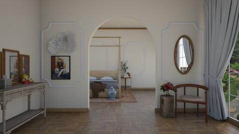 castle - Bedroom  - by rosej