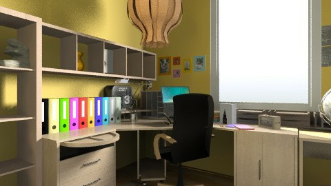 Home Office After - Eclectic - Office - by Sharon Barnes
