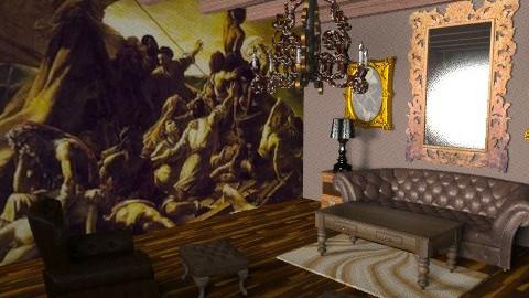 Raft of Medusa  - Rustic - Living room  - by rocky_jethro