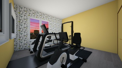 Workout Gym - Eclectic - by hdricci01123890