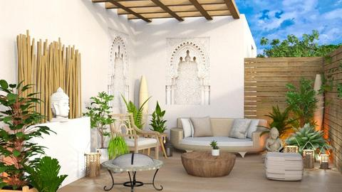 small cosy patio - Garden  - by Moonpearl