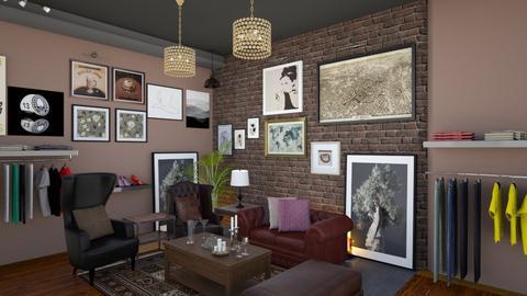 Gallery Cafe Render - Modern - by Ejad Shukri