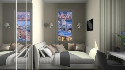 Light brown - Modern - Bedroom  - by Haecinta