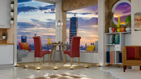 Sunset Apartment - Modern - Living room - by mmehling