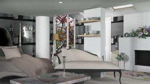 habitación romantica - Rustic - Bedroom  - by ATELOIV87