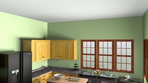 OtakuZone Home; Kitchen - Eclectic - Kitchen  - by TickTockMonster