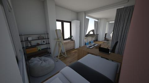 room 2 - Modern - Bedroom  - by celion
