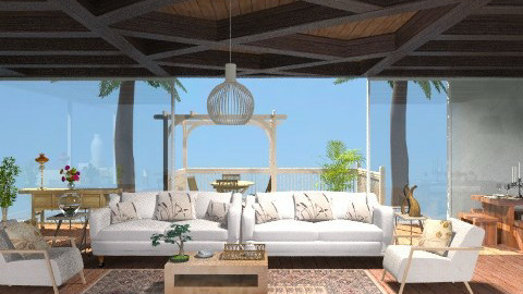 Tropical Living - Country - Living room - by jackiefruit