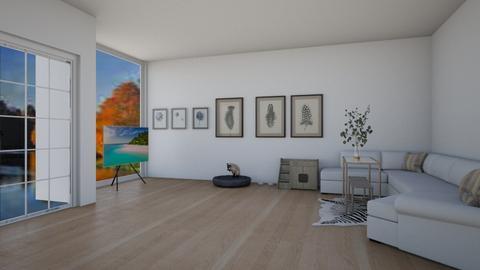 For FANGIRLdesigner - Living room  - by Drachenmaedchen