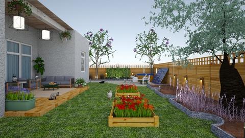 suburban farm and garden - Garden  - by kat1016