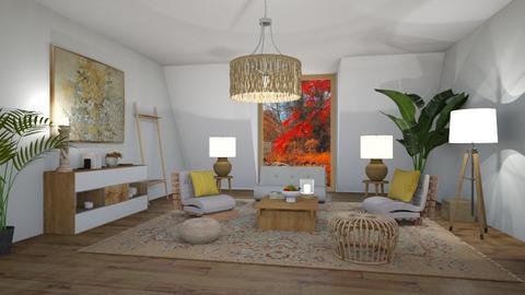 futon - Living room  - by Martina0205