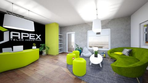 launge room x04 - Kitchen - by APEXDESIGN